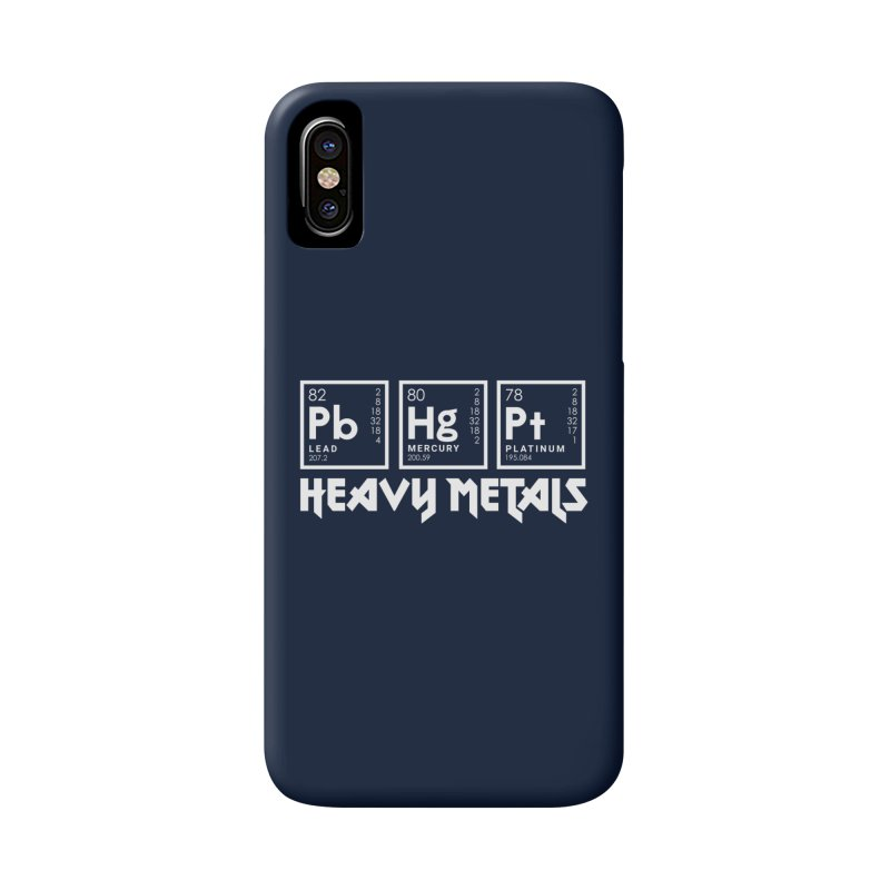 Heavy Metals Accessories Phone Case by Stuff, By Alan Bao