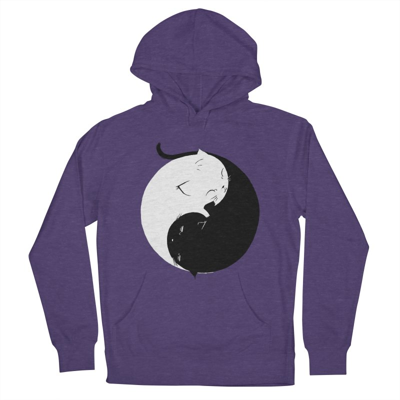 Yin Yang Kittens Women's Pullover Hoody by Stuff, By Alan Bao