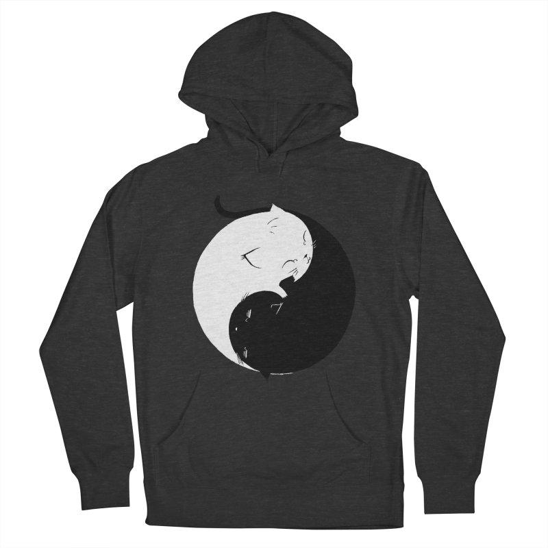 Yin Yang Kittens Men's Pullover Hoody by Stuff, By Alan Bao