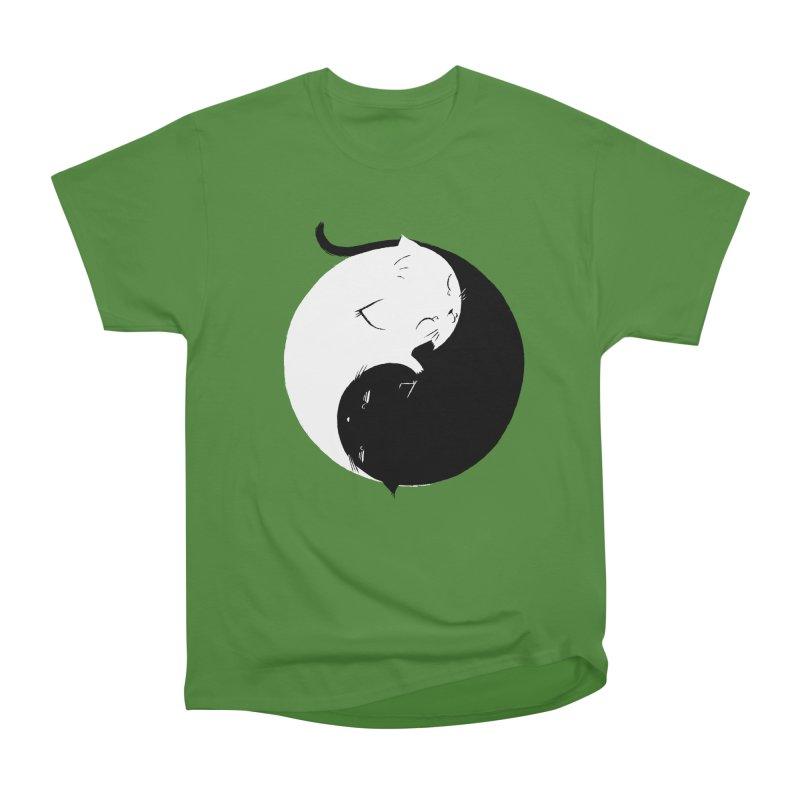 Yin Yang Kittens Women's Classic Unisex T-Shirt by Stuff, By Alan Bao
