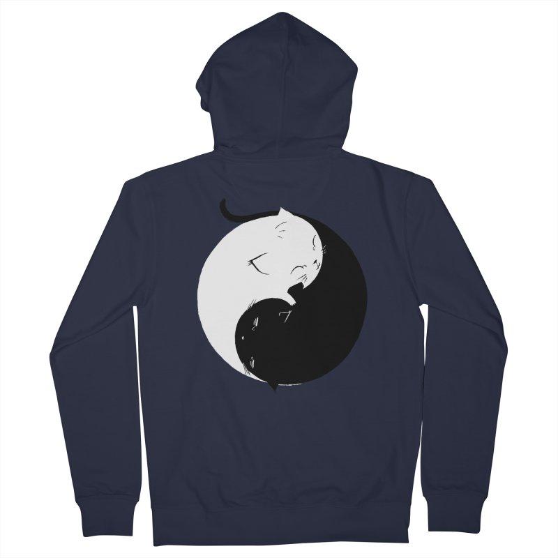 Yin Yang Kittens Women's Zip-Up Hoody by Stuff, By Alan Bao