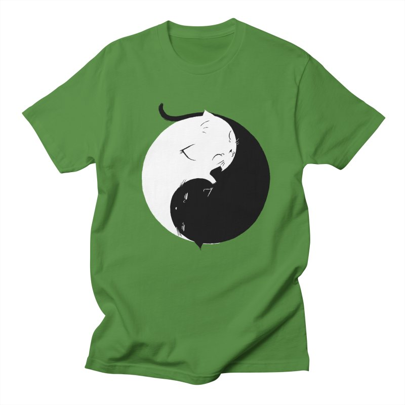 Yin Yang Kittens Men's T-shirt by Stuff, By Alan Bao