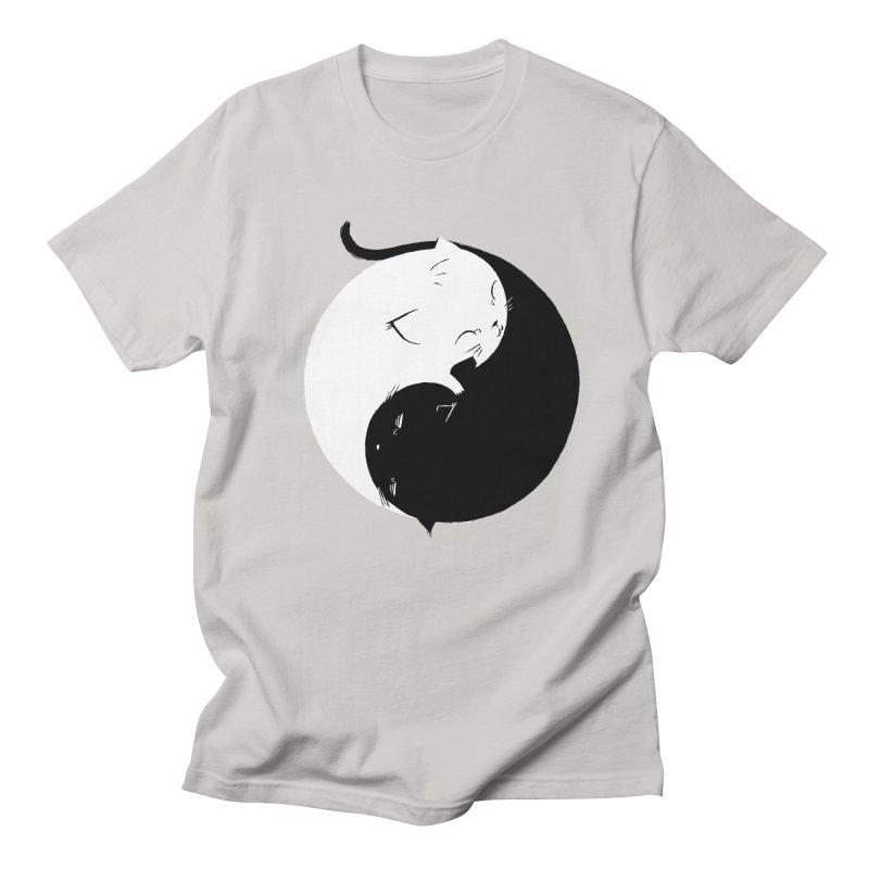 Yin Yang Kittens Men's T-Shirt by Stuff, By Alan Bao