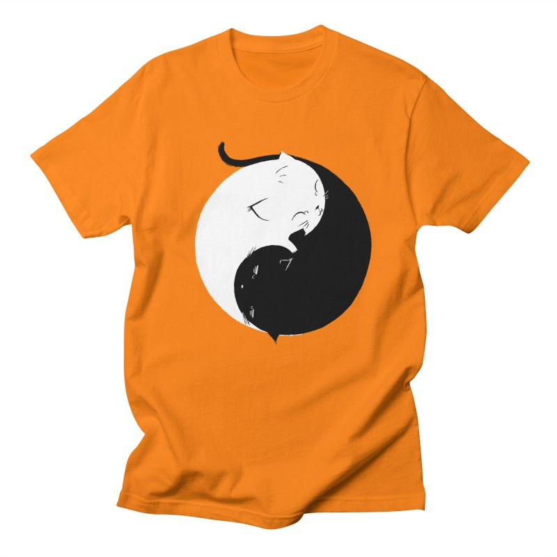 Yin Yang Kittens Women's Unisex T-Shirt by Stuff, By Alan Bao
