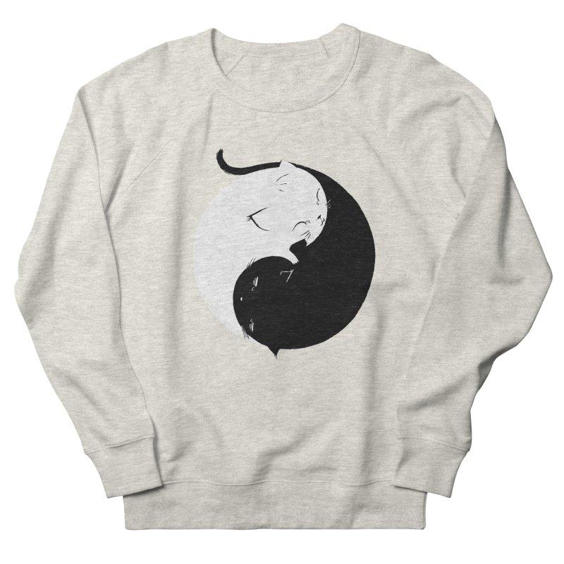 Yin Yang Kittens Men's Sweatshirt by Stuff, By Alan Bao