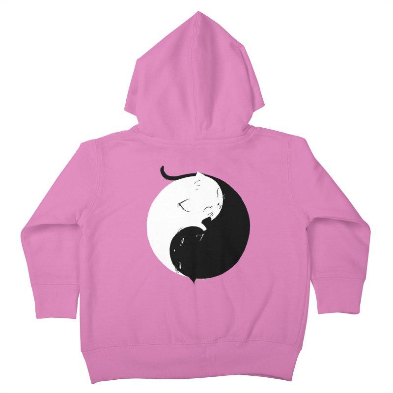 Yin Yang Kittens Kids Toddler Zip-Up Hoody by Stuff, By Alan Bao