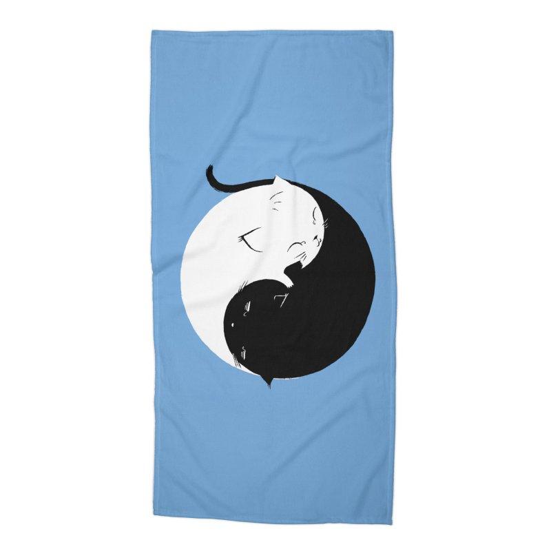 Yin Yang Kittens Accessories Beach Towel by Stuff, By Alan Bao