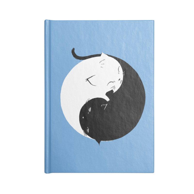 Yin Yang Kittens Accessories Notebook by Stuff, By Alan Bao