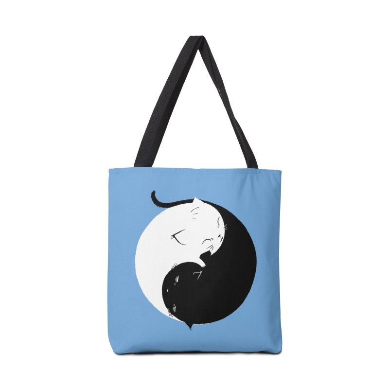 Yin Yang Kittens Accessories Bag by Stuff, By Alan Bao