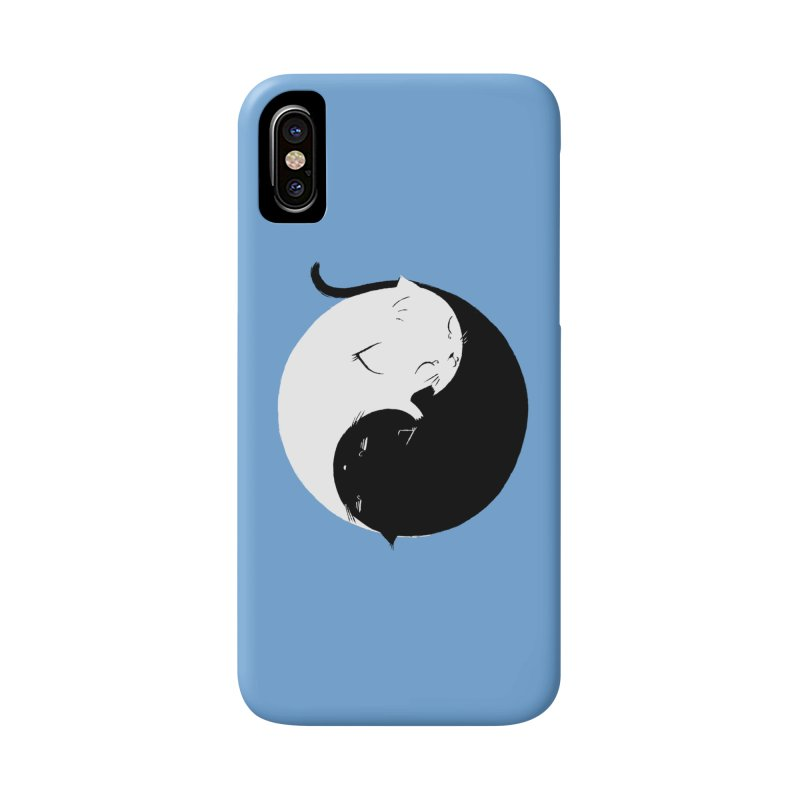 Yin Yang Kittens Accessories Phone Case by Stuff, By Alan Bao