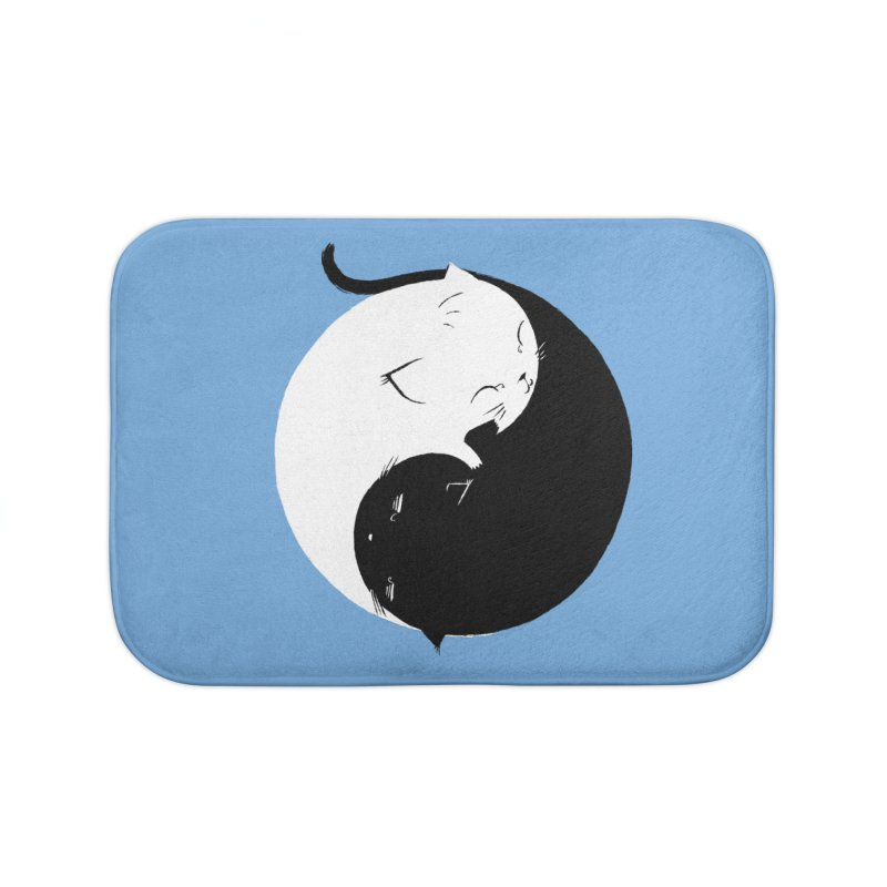 Yin Yang Kittens Home Bath Mat by Stuff, By Alan Bao