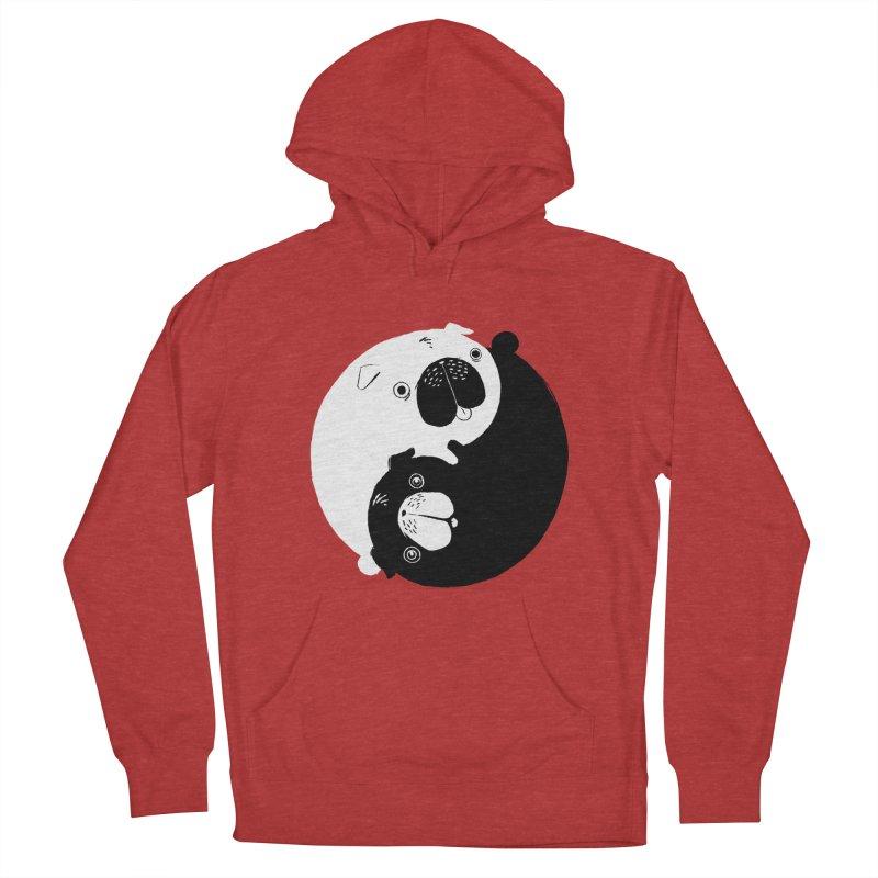 Yin Yang Pugs Women's Pullover Hoody by Stuff, By Alan Bao