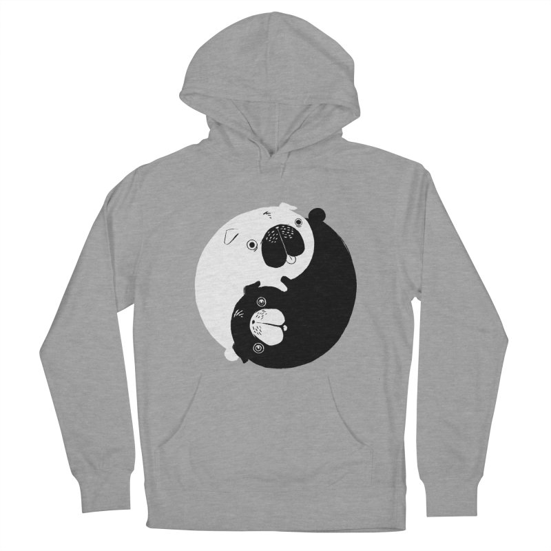 Yin Yang Pugs Men's Pullover Hoody by Stuff, By Alan Bao