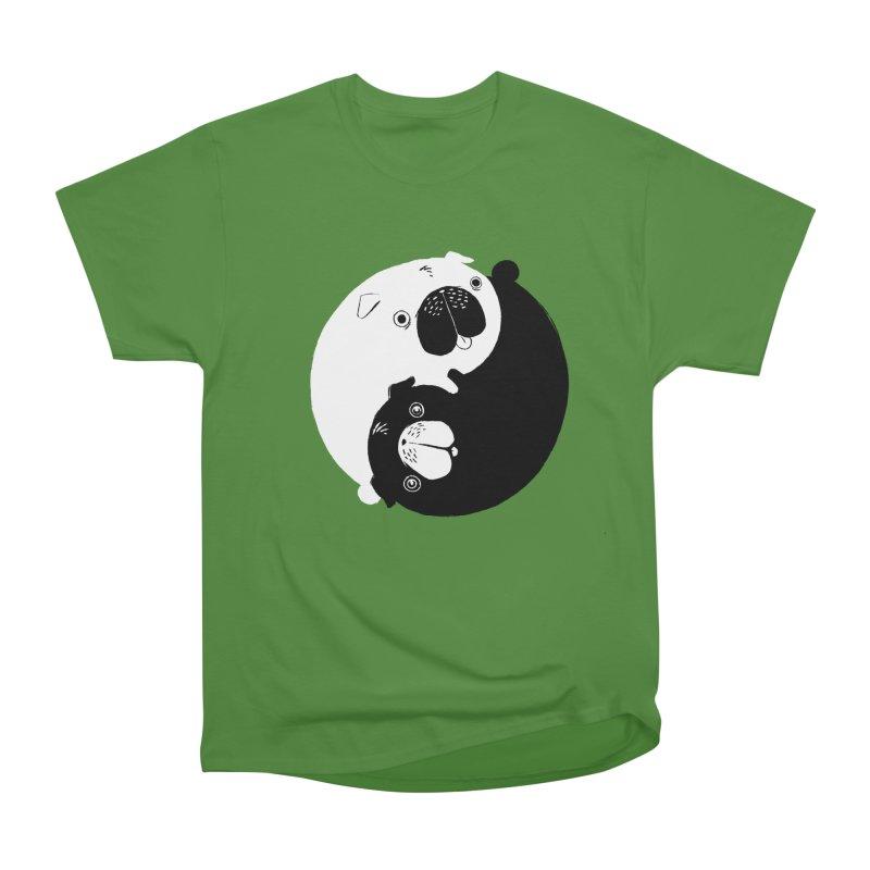Yin Yang Pugs Women's Classic Unisex T-Shirt by Stuff, By Alan Bao