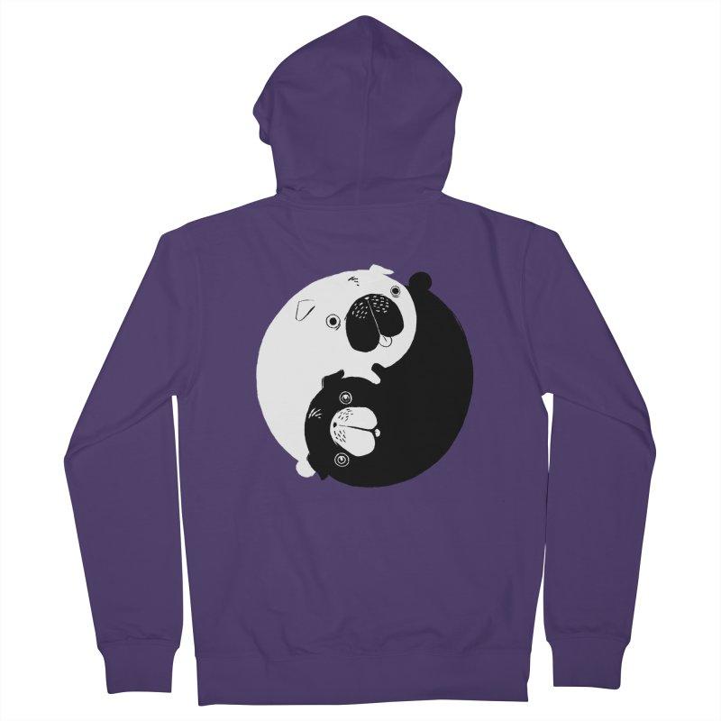 Yin Yang Pugs Women's Zip-Up Hoody by Stuff, By Alan Bao