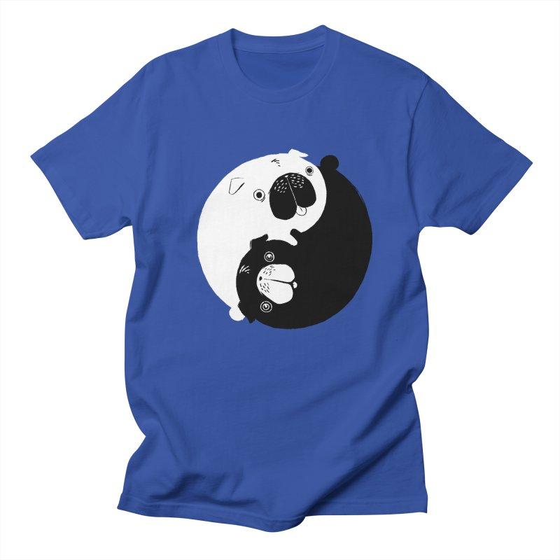 Yin Yang Pugs Men's T-Shirt by Stuff, By Alan Bao