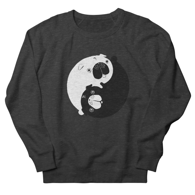 Yin Yang Pugs Women's Sweatshirt by Stuff, By Alan Bao