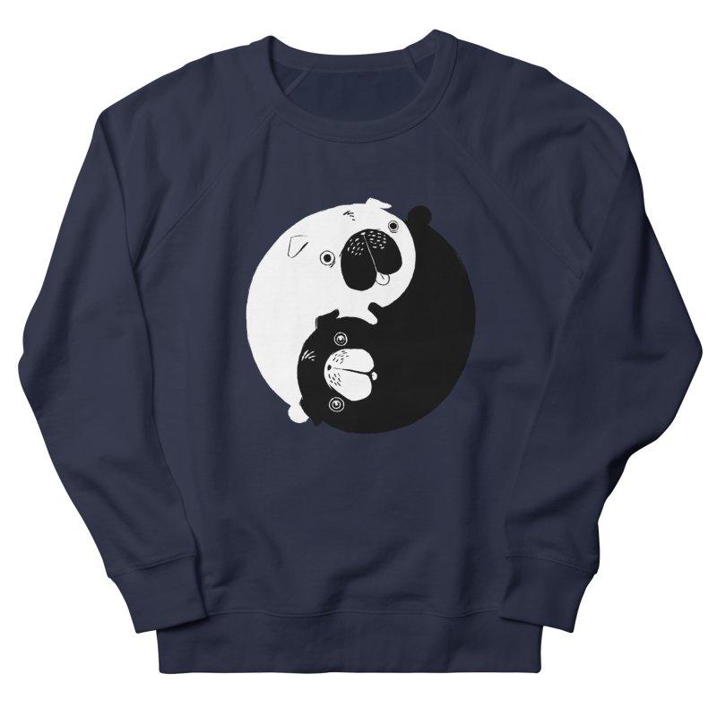 Yin Yang Pugs Men's Sweatshirt by Stuff, By Alan Bao