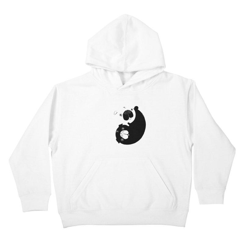 Yin Yang Pugs Kids Pullover Hoody by Stuff, By Alan Bao