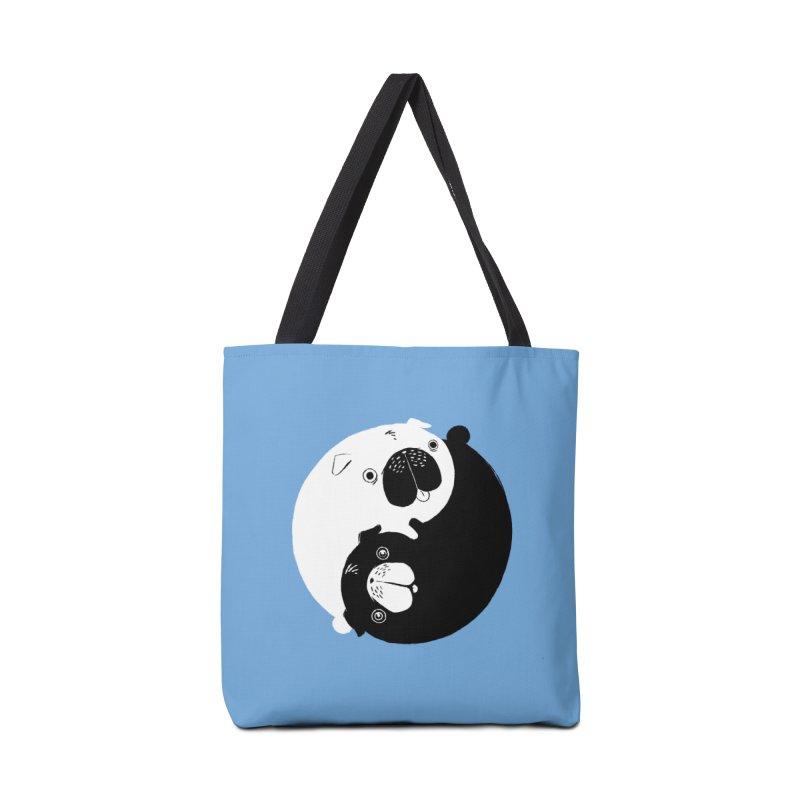Yin Yang Pugs Accessories Bag by Stuff, By Alan Bao