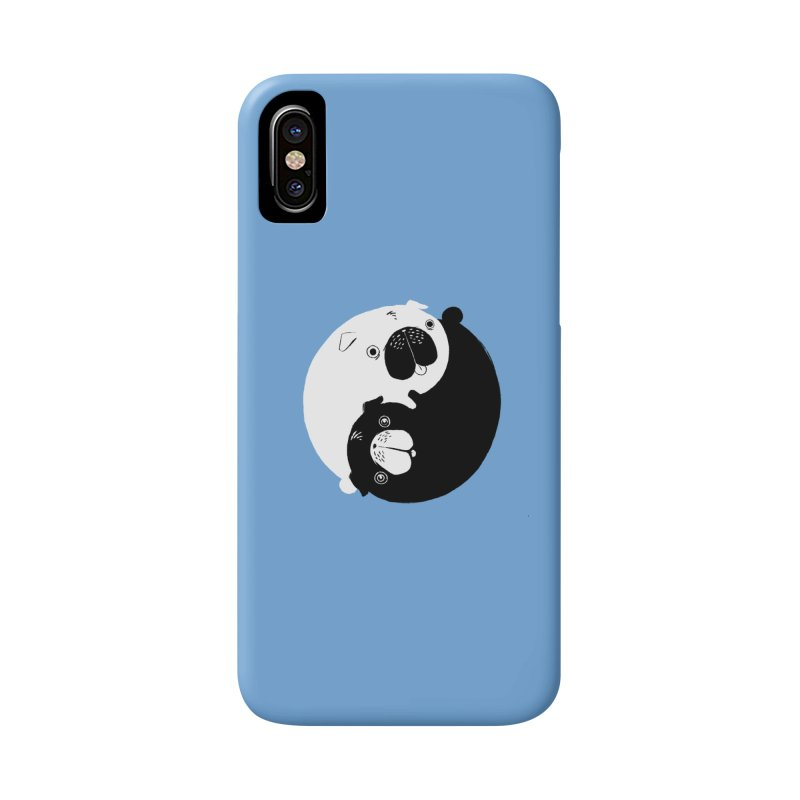 Yin Yang Pugs Accessories Phone Case by Stuff, By Alan Bao
