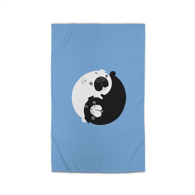 Yin Yang Pugs Home Rug by Stuff, By Alan Bao