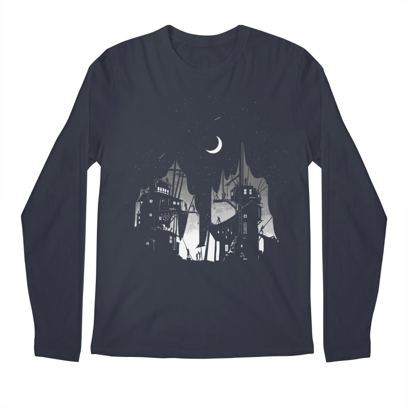 Nightfall Men's Longsleeve T-Shirt by Stuff, By Alan Bao
