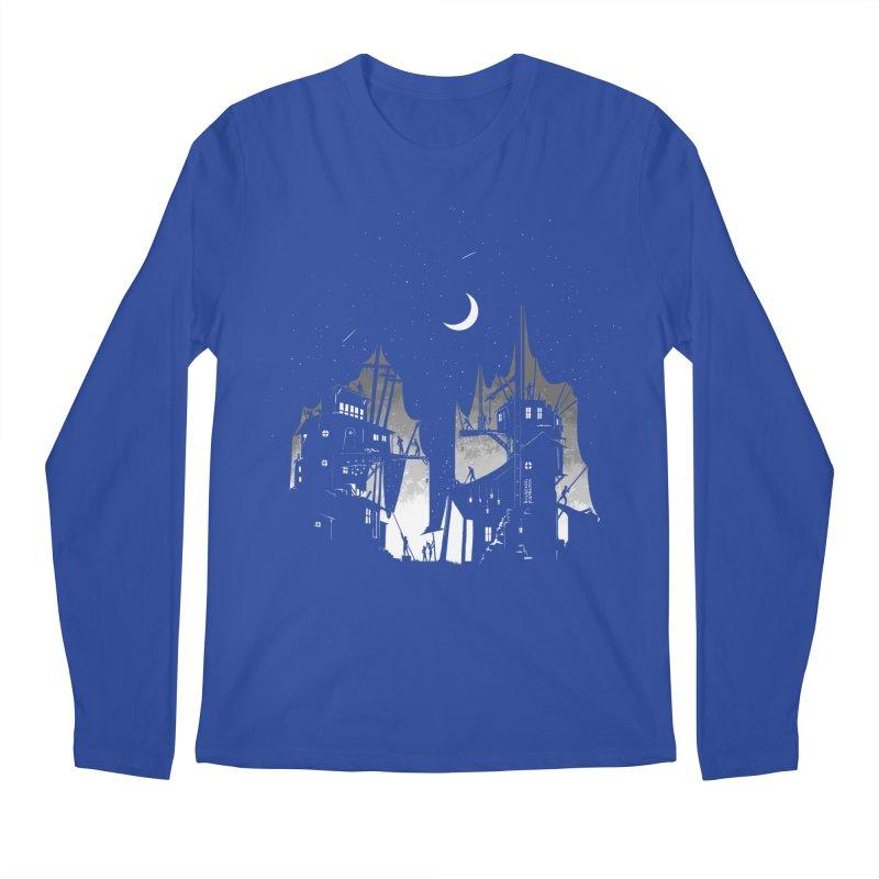 Nightfall Men's Regular Longsleeve T-Shirt by Stuff, By Alan Bao