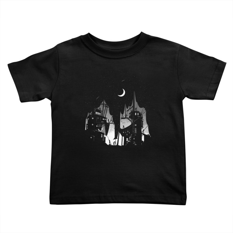 Nightfall Kids Toddler T-Shirt by Stuff, By Alan Bao