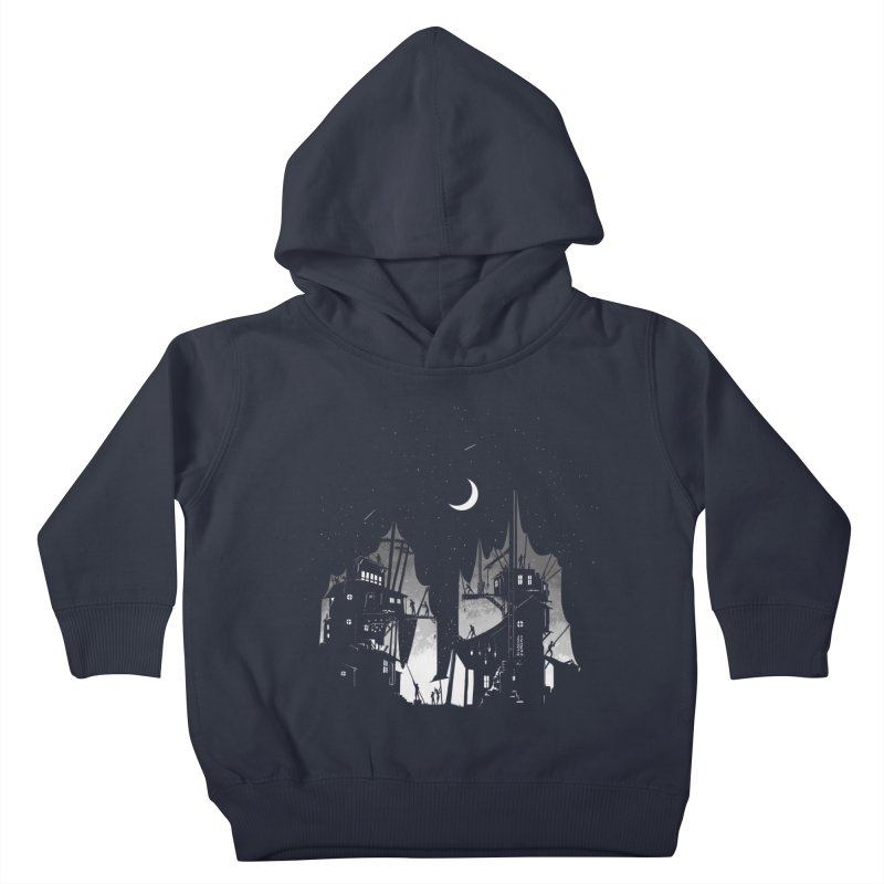Nightfall Kids Toddler Pullover Hoody by Stuff, By Alan Bao
