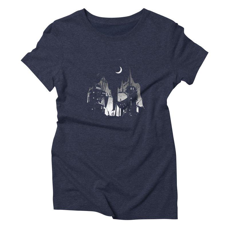 Nightfall Women's Triblend T-shirt by Stuff, By Alan Bao