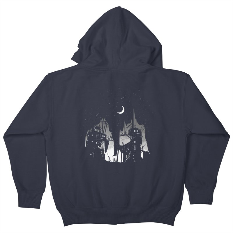 Nightfall Kids Zip-Up Hoody by Stuff, By Alan Bao