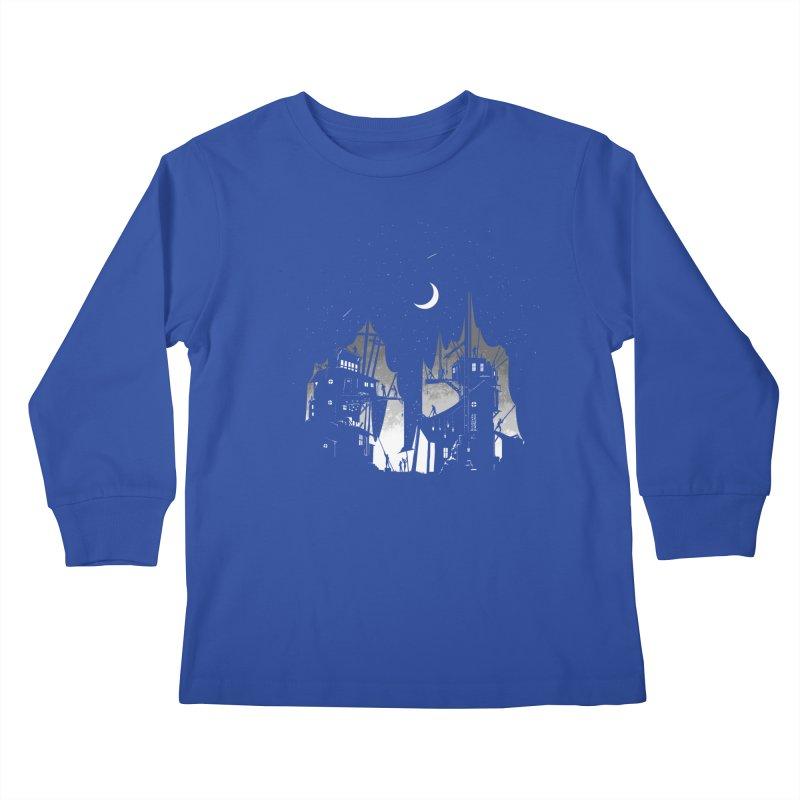 Nightfall Kids Longsleeve T-Shirt by Stuff, By Alan Bao