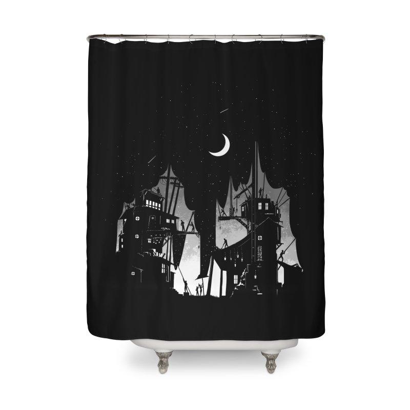 Nightfall Home Shower Curtain by Stuff, By Alan Bao
