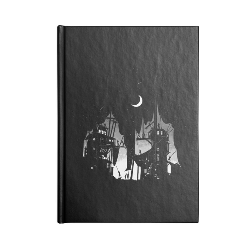 Nightfall Accessories Notebook by Stuff, By Alan Bao