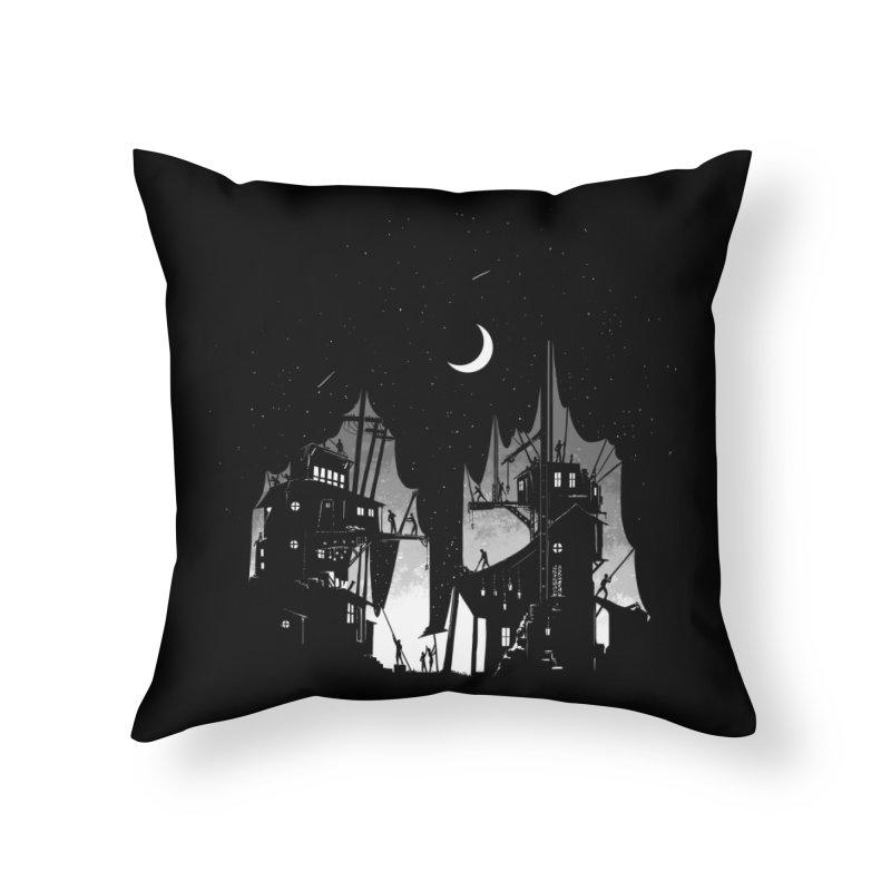 Nightfall Home Throw Pillow by Stuff, By Alan Bao
