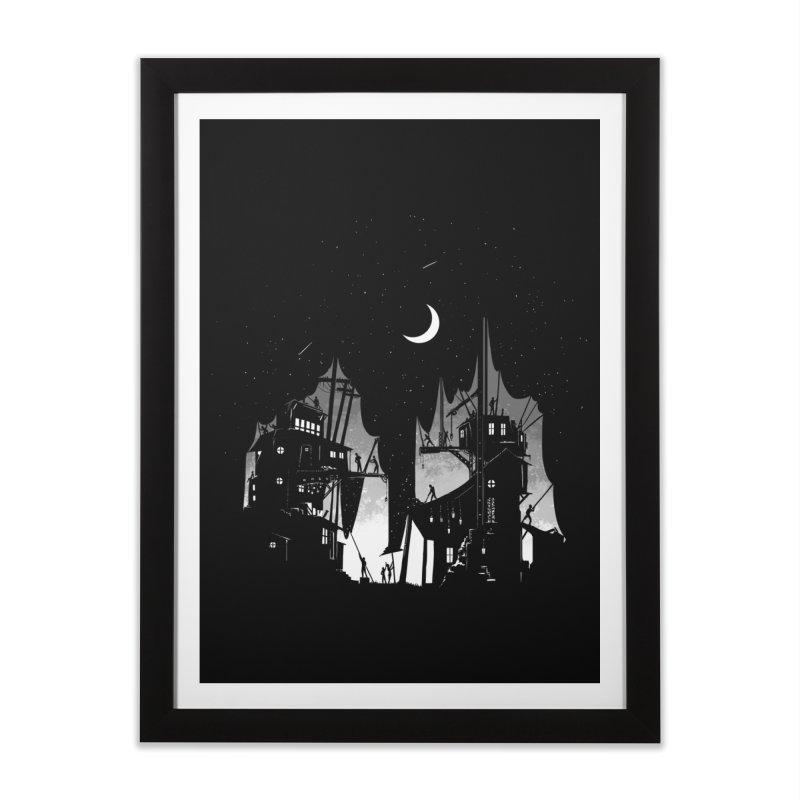 Nightfall Home Framed Fine Art Print by Stuff, By Alan Bao