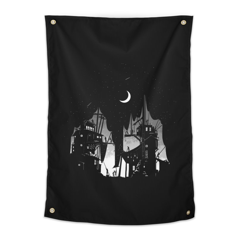 Nightfall Home Tapestry by Stuff, By Alan Bao