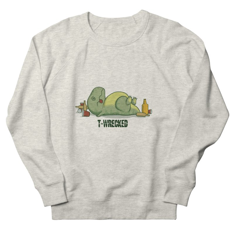 T-Wrecked Men's Sweatshirt by Stuff, By Alan Bao