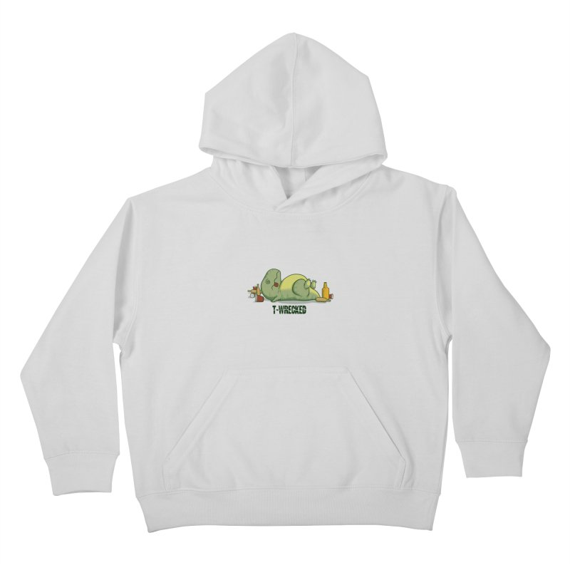 T-Wrecked Kids Pullover Hoody by Stuff, By Alan Bao