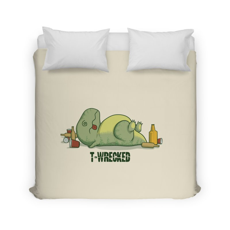 T-Wrecked Home Duvet by Stuff, By Alan Bao