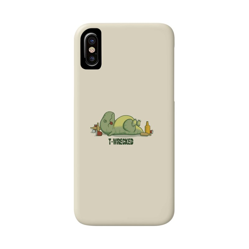 T-Wrecked Accessories Phone Case by Stuff, By Alan Bao