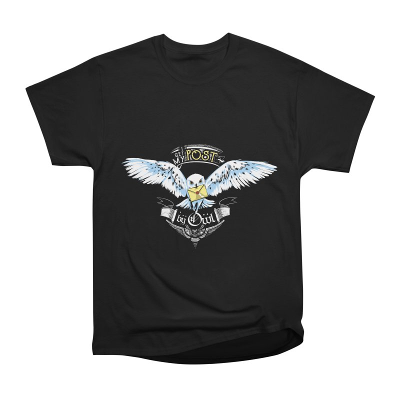 Owl Post Men's Heavyweight T-Shirt by Stuff, By Alan Bao