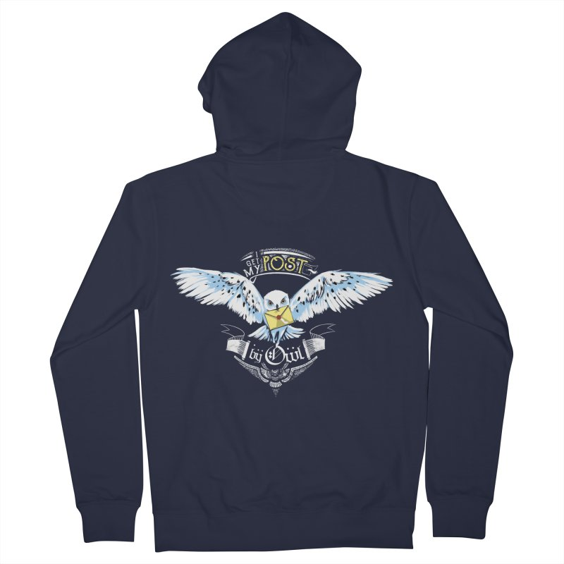 Owl Post Women's French Terry Zip-Up Hoody by Stuff, By Alan Bao