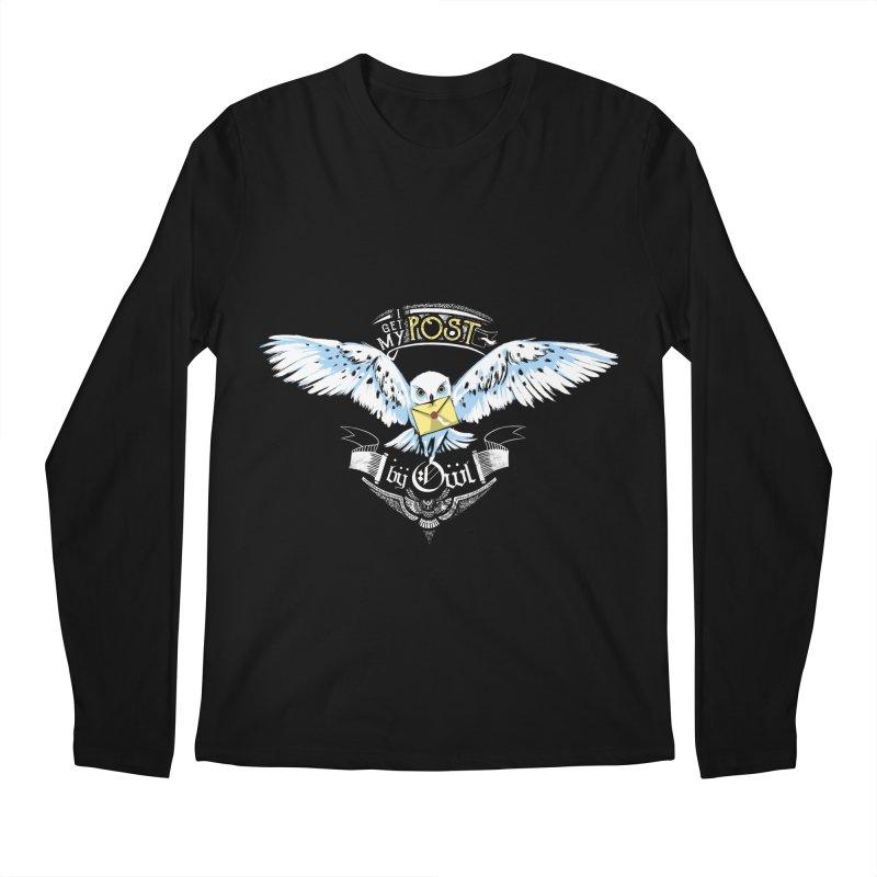 Owl Post Men's Longsleeve T-Shirt by Stuff, By Alan Bao