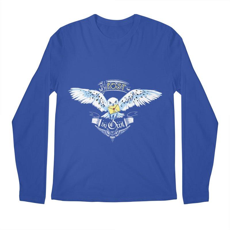Owl Post Men's Regular Longsleeve T-Shirt by Stuff, By Alan Bao
