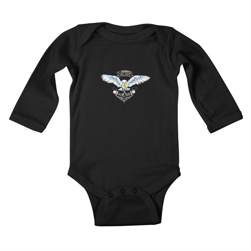 Owl Post Kids Baby Longsleeve Bodysuit by Stuff, By Alan Bao