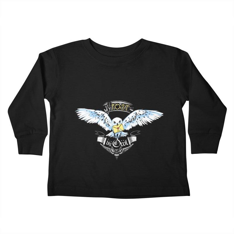Owl Post Kids Toddler Longsleeve T-Shirt by Stuff, By Alan Bao