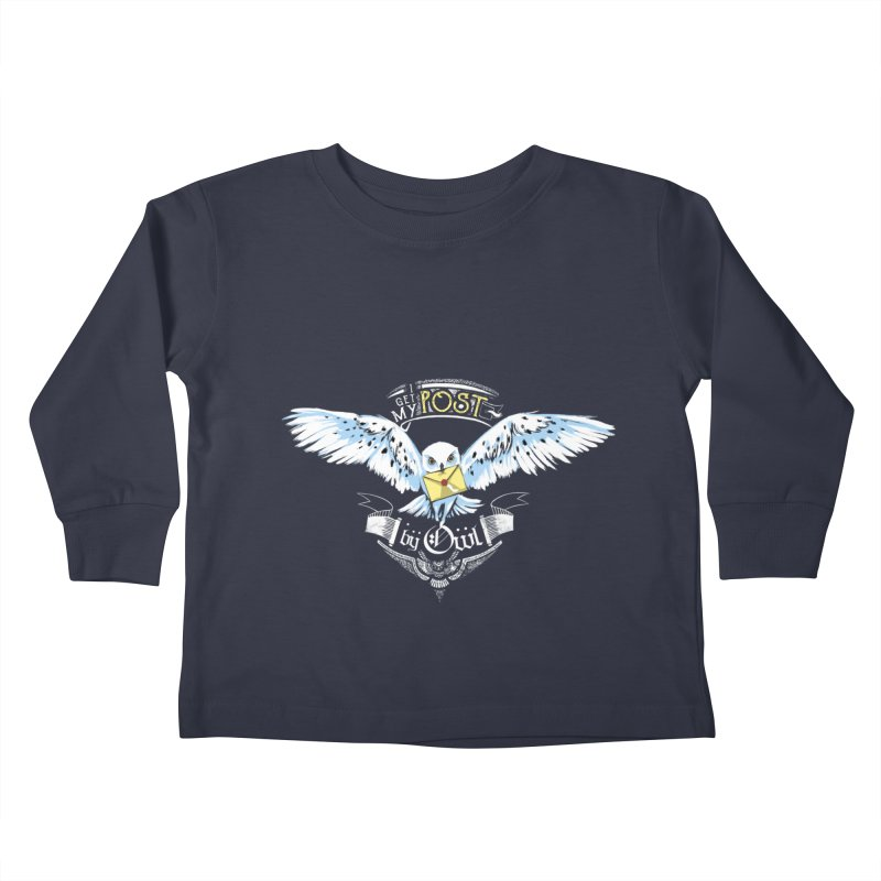 Owl Post Kids Toddler Longsleeve T-Shirt by Stuff, By Alan Bao