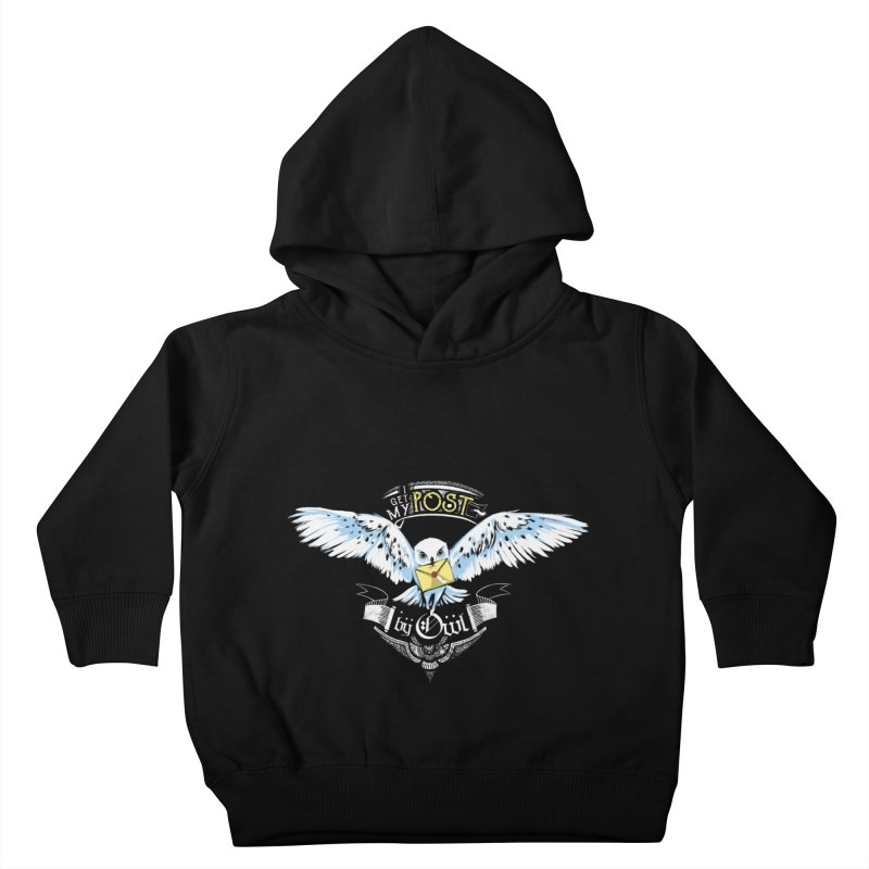 Owl Post Kids Toddler Pullover Hoody by Stuff, By Alan Bao